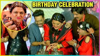 Ali Asgar Birthday Celebrations At The Launch Of Kanpur Wale Khuranas | Cake Cutting