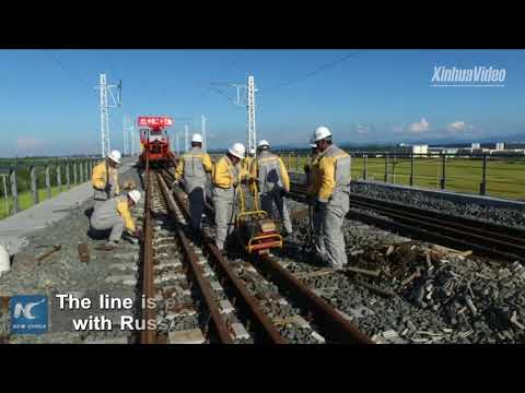 China lays track for longest high-speed railway in high latitude area