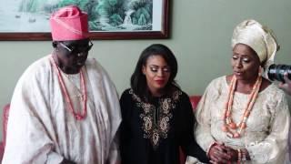 Dolapo and Prince Asiwaju traditional wedding  SPICE Weddings