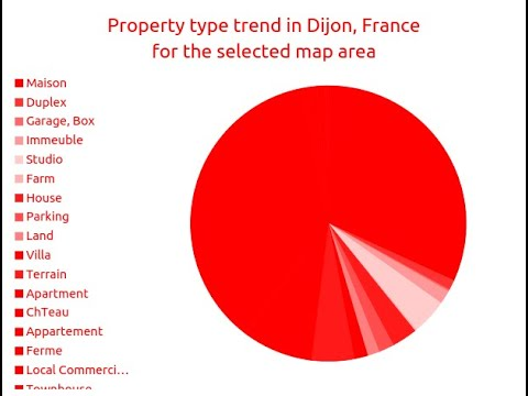 6BED | € 155000 | Maison for sale in Dijon, France | MapFlagged