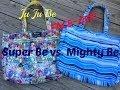 JU JU BE face-off Mighty Be vs. Super Be pool/tote bag