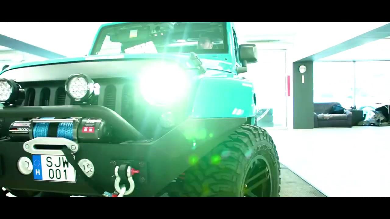 Jeep Wrangler design autófóliázás