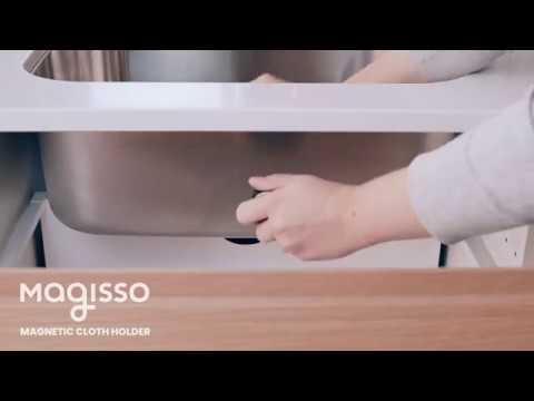 Magnetic Cloth Holder, Installation