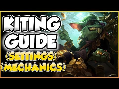 ULTIMATE KITING GUIDE! | Settings/Mechanics | League Of Legends Kiting Guide