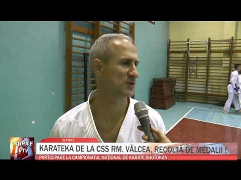 KARATEKA DE LA CSS RM  VALCEA, RECOLTA DE MEDALII