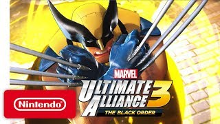 MARVEL ULTIMATE ALLIANCE 3: The Black Order - Announcement Trailer - Nintendo Switch