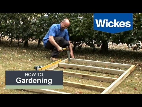 efccbe5f8e6 How to Build a Wooden Shed Base with Wickes - YouTube