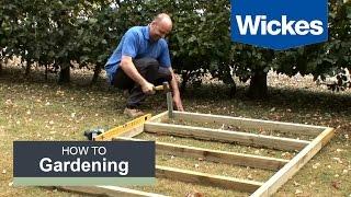 كيفية بناء سقيفة خشبية قاعدة مع ويكس