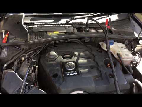 VW PASSAT 1.9TDI PD engine carbon clean