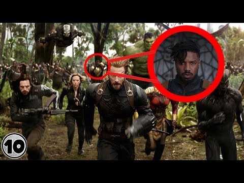 Top 10 Easter Eggs You Missed In The Avengers Infinity War