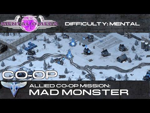 Mental Omega 3.3 // Allied Co-Op: Mad Monster