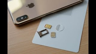 How to install dual sim in iPhone XS Max