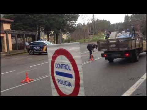 Reabiertos en Lobios y A Mezquita los pasos fronterizos entre Galicia y Portugal