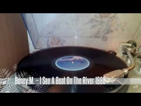 BoneyM  - I See A Boat On The River  1980 ( TECHNICS SL-D3 )