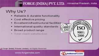 Agricultural Machinery Parts By Forge [India] Private Limited, Parwanoo