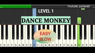 tutorial dance monkey piano easy slow