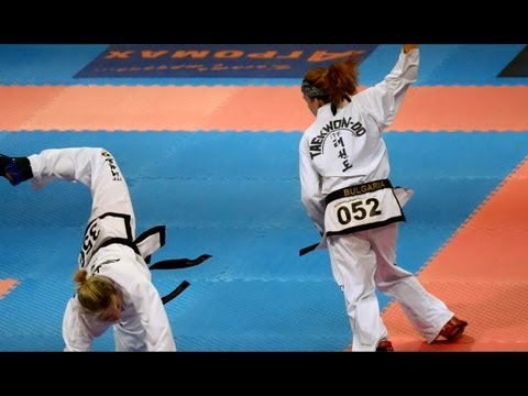 18th World Taekwon-Do ITF Championship form 15th to 21st July 2013- Women's team sparring final