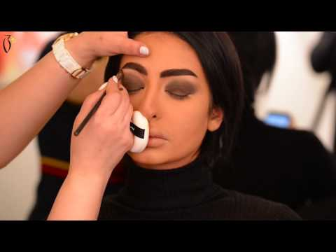 Makeup Tutorial By Alaa Dashti On Nour Al Ghandour ميكب توتوريال