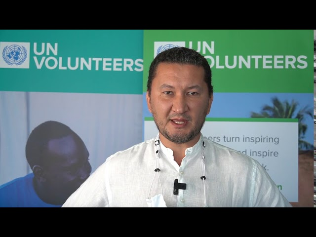 Toily Kurbanov, Deputy Executive Coordinator, UN Volunteers #Act4SDGs