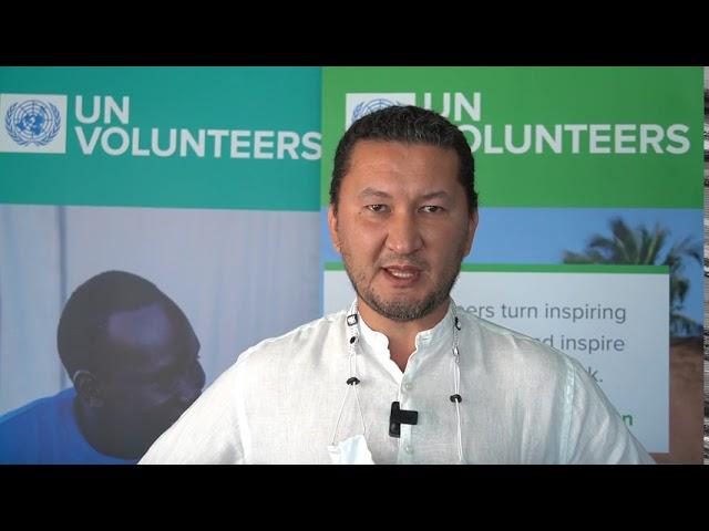 Toily Kurbanov, Deputy Executive Coordinator, UN Volunteers #Act4SDGs