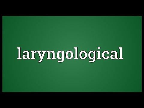 Header of laryngological