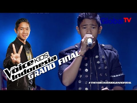 "Rafi ""Jealousy"" | Grand Final | The Voice Kids Indonesia GlobalTV 2016"