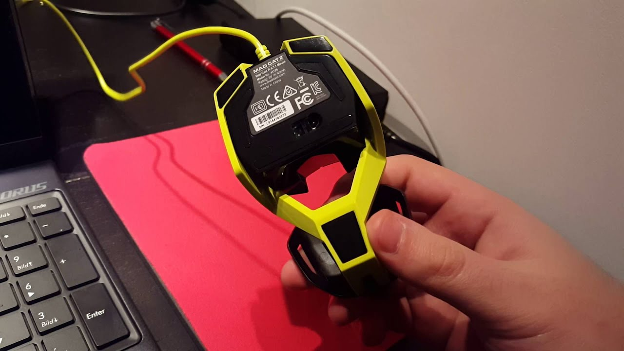 Fitst Review Madcatz R A T 1 Mad Catz Rat 1 Youtube
