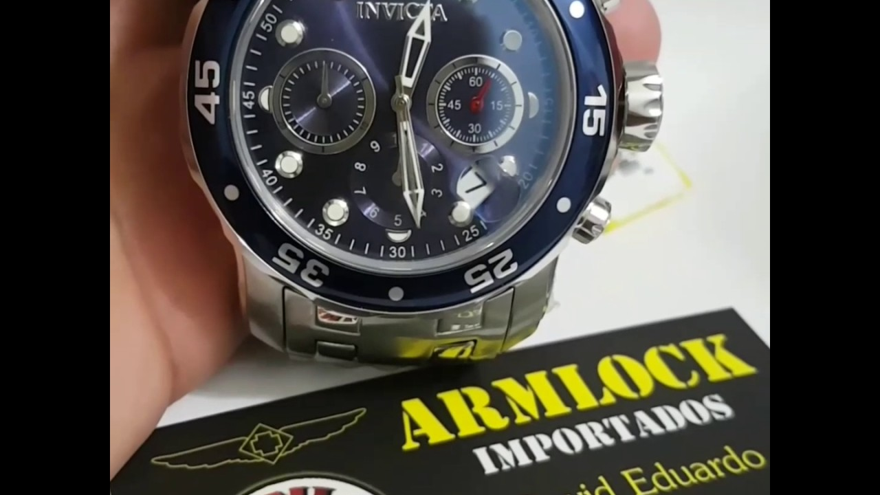 0fcf25fd782 Invicta Men s 0070 Pro Diver Collection - YouTube