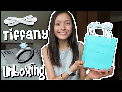 4e1b17a21 TIFFANY & Co. Infinity Ring UNBOXING ♡ | Cass Kinling - YouTube