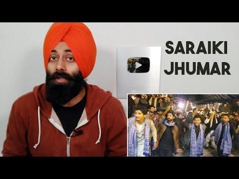 Indian Reaction On Saraiki Jhumar   Pakistani Saraki Dance & People😘❤