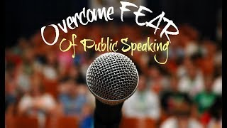 Failing With PUBLIC SPEAKING ?