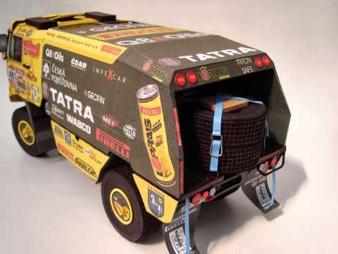 Papercraft Tatra 815 4x4 CER 2008 - Paper Model
