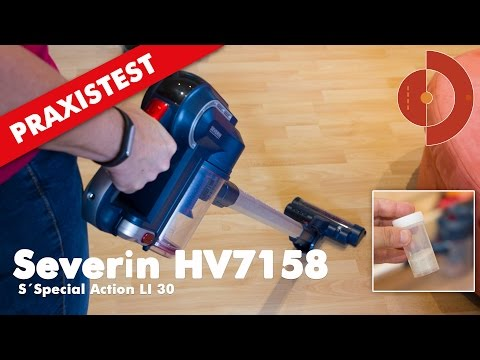 Severin HV7158 Akku-Staubsauger im Test
