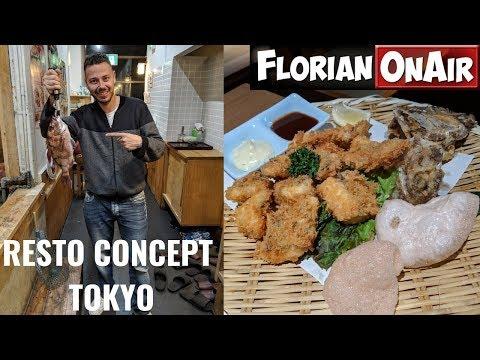 Un CONCEPT FOU de RESTO à TOKYO ! - VLOG #768