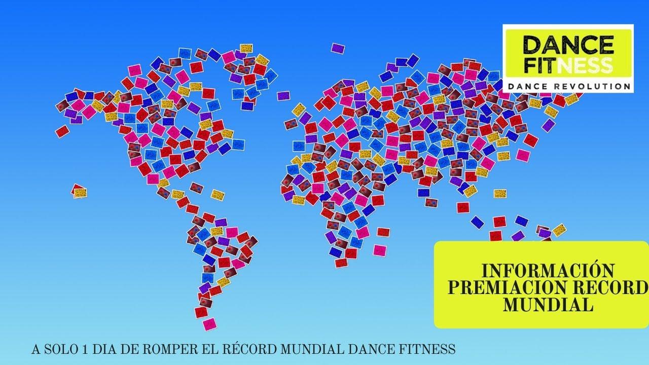 INFORMACION PREMIACION. MARCAS ALIADAS. RECORD MUNDIAL DANCE FITNESS
