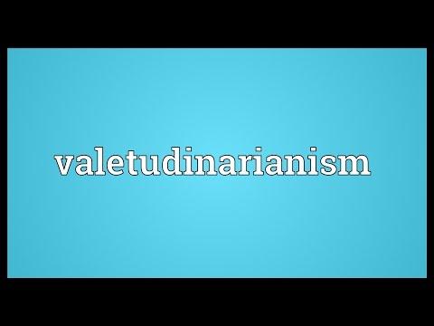Header of valetudinarianism