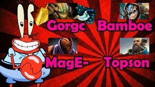 Gorgc Mage- vs Bamboe and Topson in Pub   Gorgc Sand King