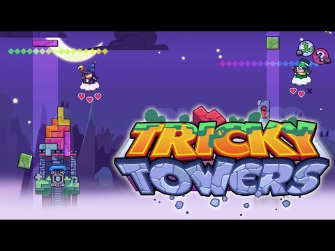 Tricky Towers - Multi-player Fun With Sqaishey