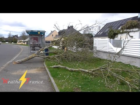 TEMPÊTE ZEUS - 6 mars 2017 | Severe wind in France