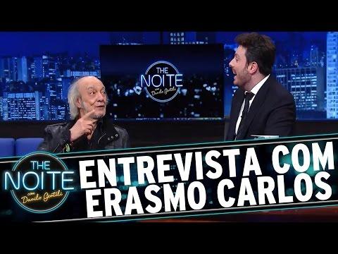 The Noite (19/01/16) - Entrevista Com Erasmo Carlos