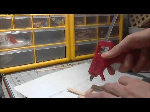 building paper model vw bug part 1