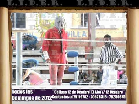 Lucha libre mixta, slipknot vs Pili