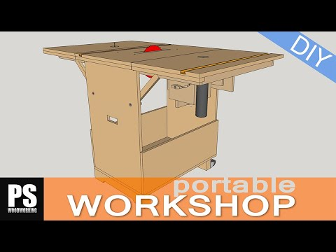 Making a Portable Workshop – component 1