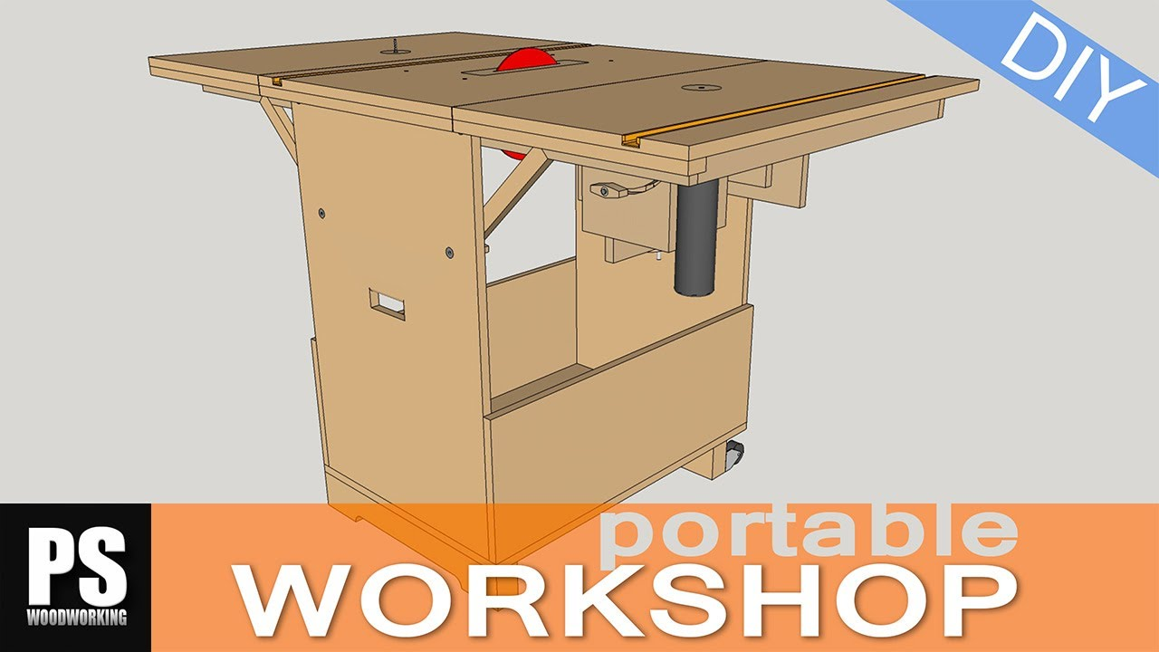 Making A Portable Workshop Part 1 YouTube
