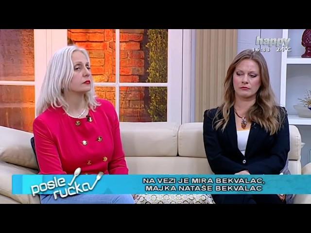 Majka Natase Bekvalac za TV Happy - Ekskluzivno ukljucenje - (TV Happy 19.04.2018)