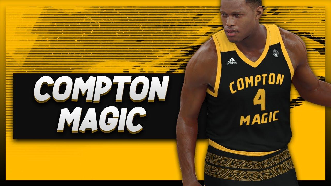 8dd308c09e3 NBA 2K17 - Compton Magic Jersey Tutorial - YouTube