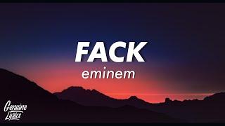 Eminem - Fack (Lyrics)
