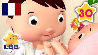 Un Nouveau Bébé | Compilation de Comptines | Berceuses | Little Baby Bum Junior en Français