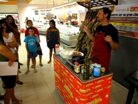 Demostraci n de cocina en el supersol de jerez parte 4 for Cocina y alma jerez