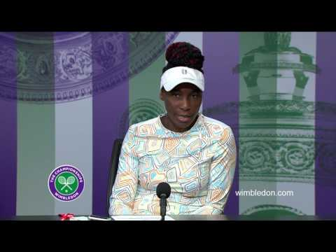 Venus Williams quarter-final press conference